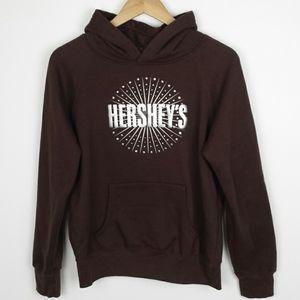 Hershey's Pullover Sweatshirt Hoodie Size L
